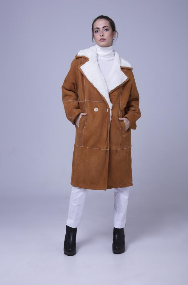 Cappotto Shearling - Naturale